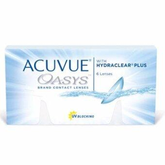 Harga Acuvue Oasys with Hydraclear Plus Contact Lenses -2.50 (6 lenses/box)