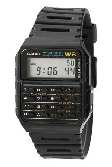Harga CASIO CA53W-1 Digital Calculator Watch - Marty's Back to the future
