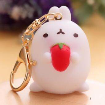 Harga Hequ Creative Korean Crafts Gift Cute Animal Ornaments Potatoes Rabbit Car Decoration Rabbit Keychain Bags Small