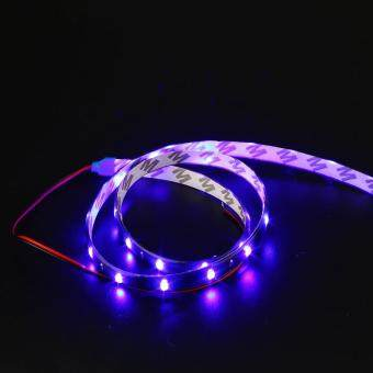 Harga 60cm Auto Car Interior Exterior Flexible LED Strip Light Lamp Bar Decor