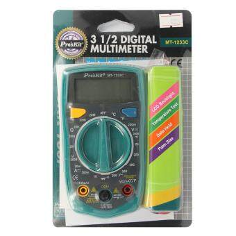 Harga Pro'sKit MT-1233C-C 3 1/2 Digital Multimeter Pro Test Meter With Temperature Test