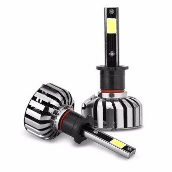 Harga Hequ 2pcs High Power 80W H1 H3 H4 H7 H9 H11 H13 9004 9005 9006 9007 880/881 LED Headlight Kit Car Beam Light 6000K Waterproof IP68 9-36V H02