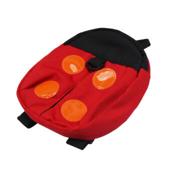 Harga Child Safety Harness Backpack Ladybird Baby Anti-lost Walking Wings Red (...)