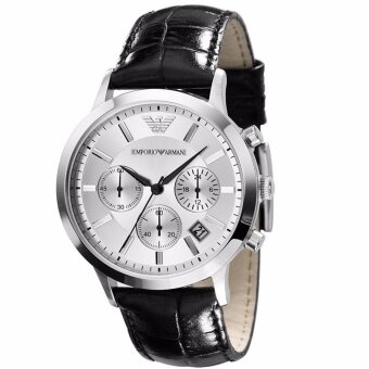 Harga Emporio Armani Men's Classic White Dial Chronograph Watch AR2432