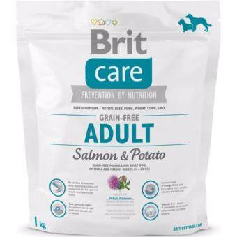 Harga Brit Care Grain-free Adult Salmon & Potato 1kg