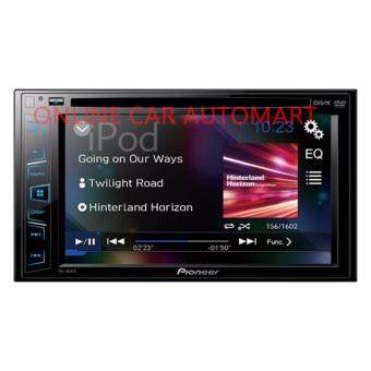 "Harga Pioneer AVH-195DVD Double-DIN DVD Multimedia AV Receiver with 6.2"" WVGA Touchscreen Display, and Direct Control for iPod/iPhone"