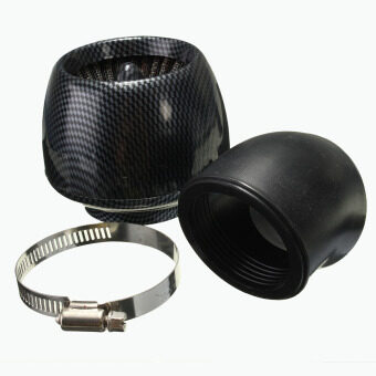 Harga Air Filter Carbon Fiber I/D 48mm K+N Style For 140cc 150cc 160cc Pitbike Scooter