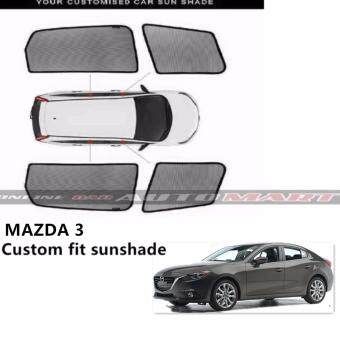 Harga Custom Fit OEM Sunshades/ Sun shades for Mazda 3 - 4pcs