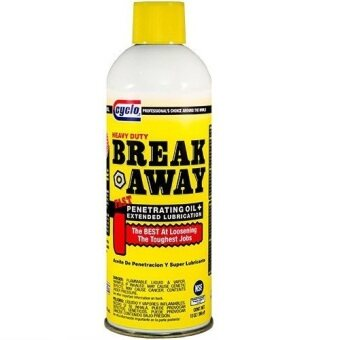 Harga Cyclo Lubricant Break Away (369G) (Fast Penetrating Oil & Long Lasting Lubricant Frees Rusted And Frozen Parts: Bolts, Locks, Engine Parts, Hinges, Etc.)