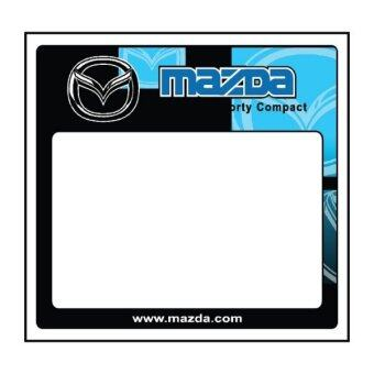 Harga Car Road Tax Sticker (Mazda)