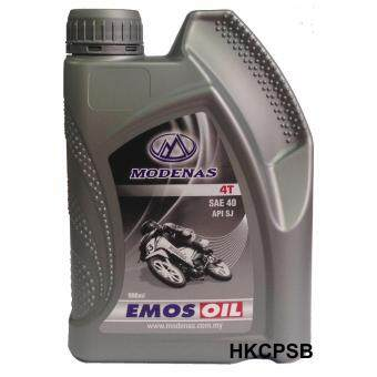 Harga MODENAS 4T SAE40 EMOS Oil Lubricant Motorcycle Engine Oil 900ml