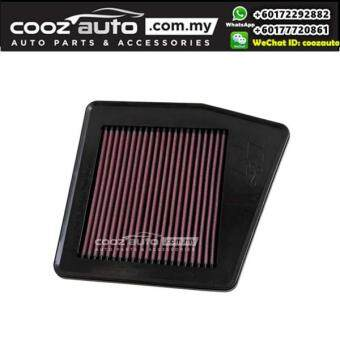 Harga HONDA ACCORD CP 2.0 2009-2015 K&N High Performance Stock Replacement Washable Air Filters