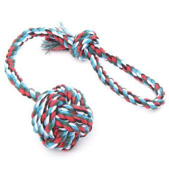 Harga PET DOG OR CAT ROPE DOGS BALL COTTONS CHEWS TOY