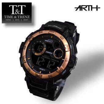 Harga Time&Trenz ARTH 2003 High Quality Unisex Sporty Water Resistance Watch