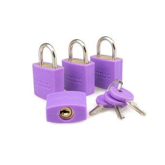 Harga Korjo 4 Pack Colorful Locks – LLC40 Purple