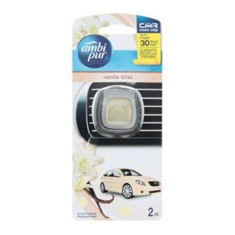 Harga AMBI PUR CAR MINI VANILA BLISS CAR AIR FRESHENER 2ML