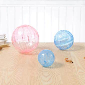 Harga Strongly recommend that Free shipping multicolor Crystal transparent mini Hamster 10cm Run the ball Small pet supplies accessories#10cm