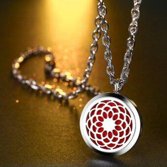 Harga Diffuser Jewelry Essential Oil Diffuser Necklace Pendant Locket Gorgeous Aromatherapy Jewelry Gift Set With 20 Inch Chain BONUS 12 Washable Insert Pads Blossom