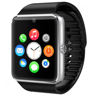 Harga GT08 Smart Watch Compatible with Iphone Android Smartwatch