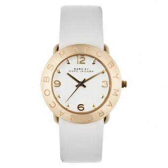 Harga Marc by Marc Jacobs MBM1150 Ladies White Gold Amy Watch