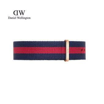 Harga Daniel Wellington Classic Nato Watch Band 20mm - [ Classic Oxford ] Rose Gold