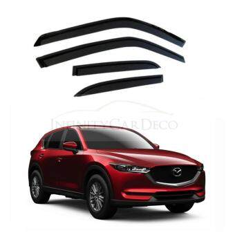 "Harga Mazda CX5 2012 Above Original Door Visor (4"")"