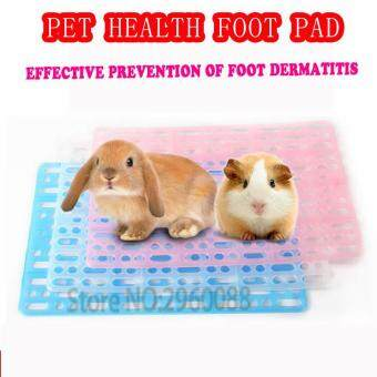 Harga 2017 New Free Shipping Rabbit Guinea Pig Totoro Cage Health Mat Small Pet Hollow Prevent Dermatitis Easy Clean Nest Pad