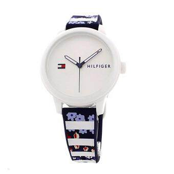 Harga Tommy Hilfiger Watch Ashley Multicolored Plastic Case Rubber Strap Ladies NWT + Warranty 1781779