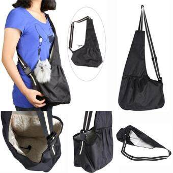 Harga Pets Dog Carrier Travel Tote Shoulder Bag Oxford Cloth Sling Backpack for Small Dogs Cats Puppies