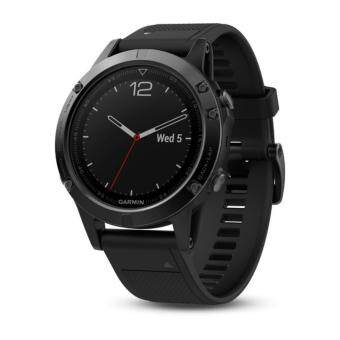 Harga Garmin Fenix 5 Sapphire Edition Multisport GPS Watch Black / Black Band Wrist HR