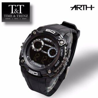 Harga Time&Trenz ARTH 2024 High Quality Unisex Sporty Water Resistance Watch