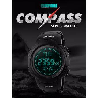 Harga 2017 SKMEI 1231 Outdoor Sports Compass Watches Hiking Men Watch Digital LED Electronic Watch Man Sports Watches Chronograph Men Clock