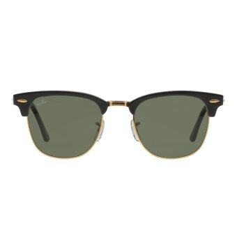 Harga Ray-Ban Clubmaster Crystal Green Lenses RB3016 W0365 Arista Sunglasses [51]