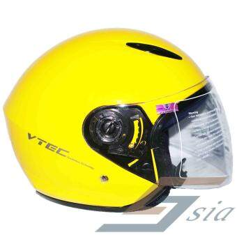 Harga LTD VTEC Mono Helmet (Yellow)