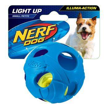 "Harga Nerf Dog LED Bash Ball - Small 2.5"" - Blue"