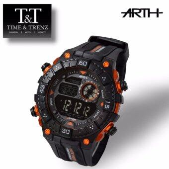 Harga Time&Trenz ARTH 2027 High Quality Unisex Sporty Water Resistance Watch