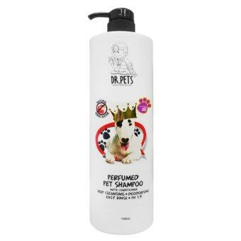 Harga DR PETS Inspired By LADY GAGA NATURAL GERMS BUSTER PERFUMED PET SHAMPOO (DOG) 1L