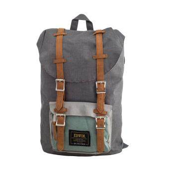 Harga Edwin BLUE TRIP Mid Size Backpack (Light Grey)
