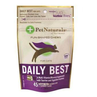 Harga Pet Naturals Daily Best For Cat 45 Chews