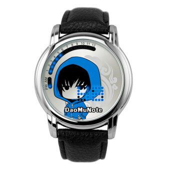 Harga Anime LED Touching Screen Waterproof 100M Boys' Fashion Watches(Color:Daomu Note)