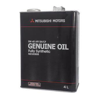 Harga Mitsubishi 5W40 SN/CF Fully Synthetic Engine Oil 4L (JAPAN)