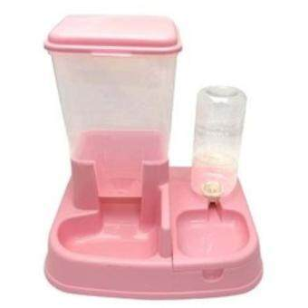 Harga Automatic Pet Feeder and Water(PINK)