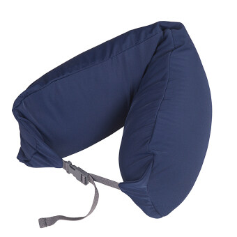 Harga MUJI Inspired Well Fitted (Microbead) Travel Pillow Navy