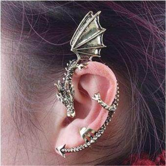 Harga Punk Style Dragon-shaped Earrings Random Color