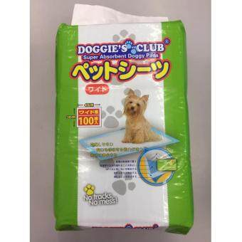 Harga Doggies Club Super Absorbent Doggy Pads 100 Pcs(45cmx30cm)