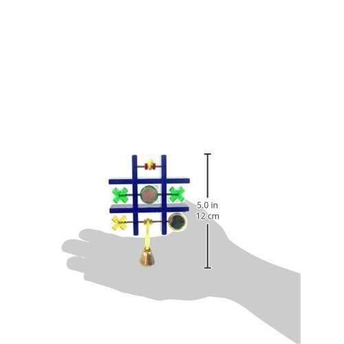 [JW PET TOYS] Activitoy Tic Tac Toe Small Bird Toy