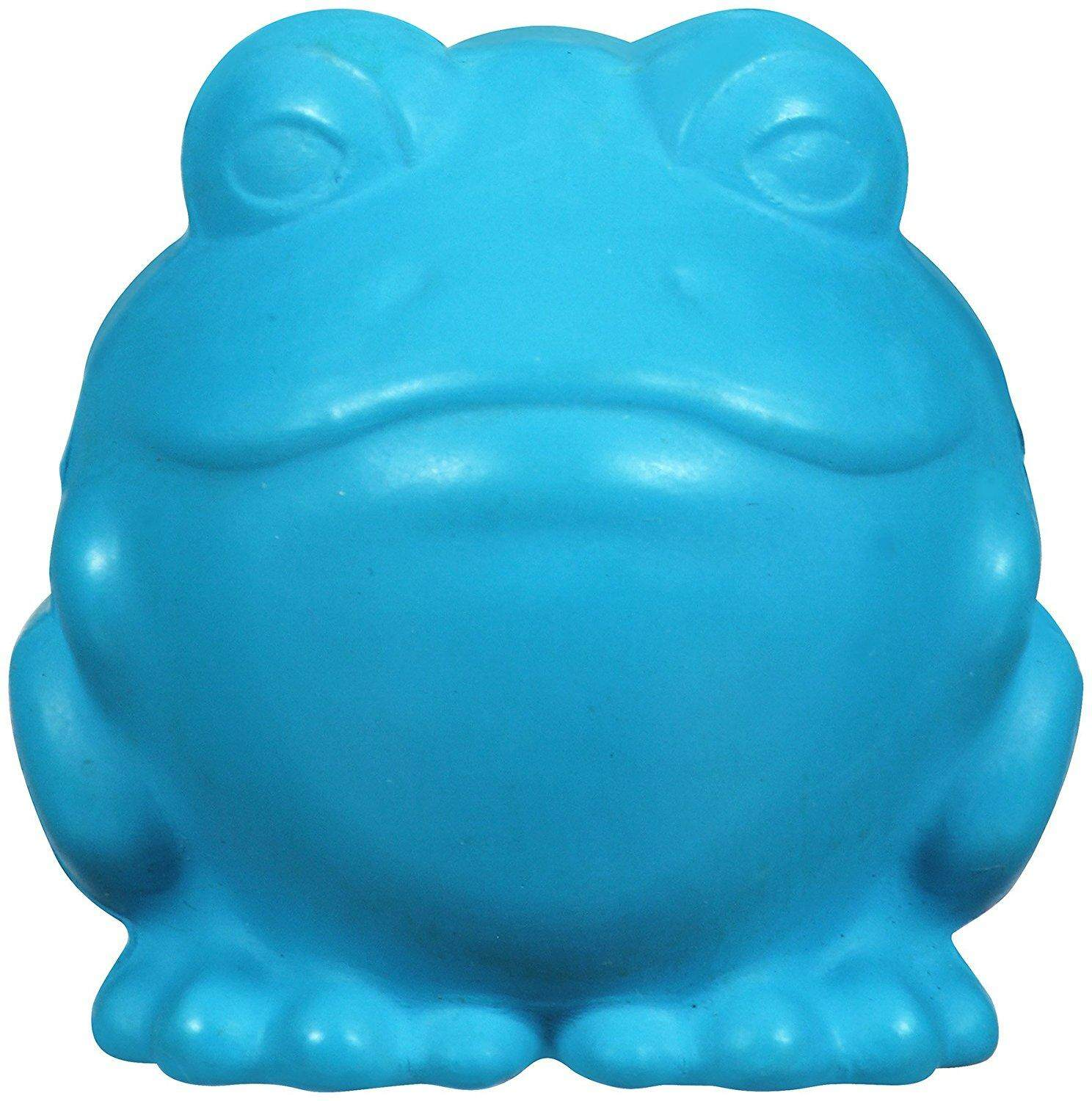 [JW PET TOYS] Darwin the Frog Dog Squeaky Toy - Large