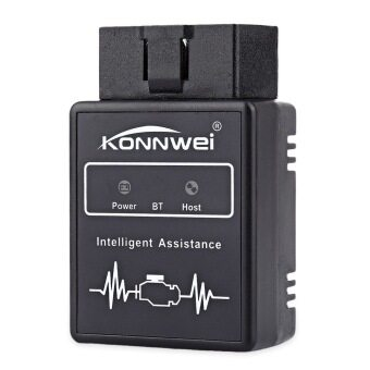 Konnwei KW912 Car Scaner Code Reader OBD2 Car Diagnostic Scan ToolBluetooth OBDII Professional Solution for iOS/Android System