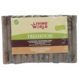 Living World Tree House Real Wood Logs - Large 61409