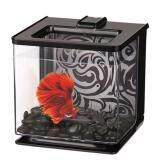 Marina Betta Aquarium EZ Care 2.5L - Black - Fish Tank (13358)